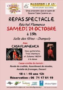 affiche repas spectacle 241015 2