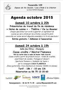 agenda octobre 2015